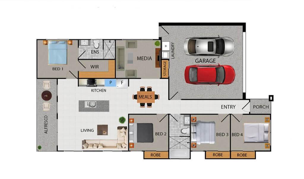 JET Floor Plan