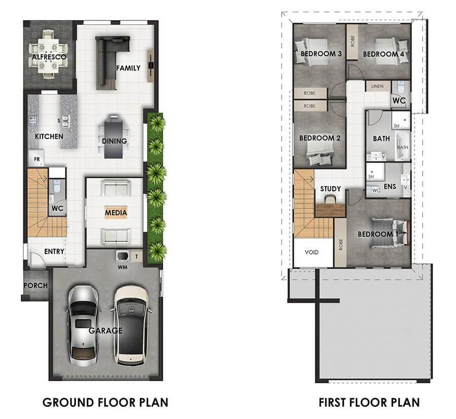 Azurite Floor Plan