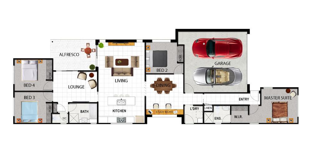 BELLAGIO Floor Plan