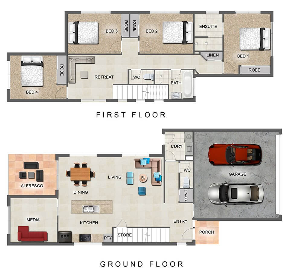 Carbon Floor Plan