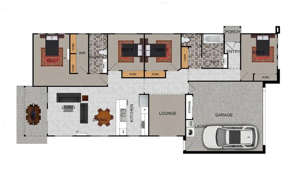 MONTANA Floor Plan