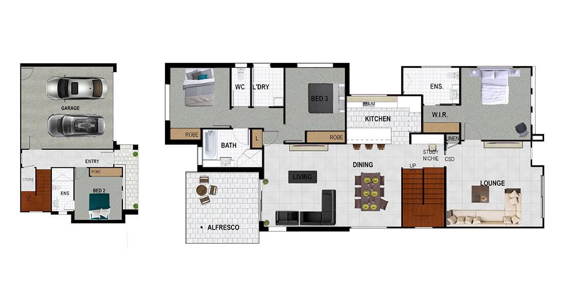 Excalibur Floor Plan