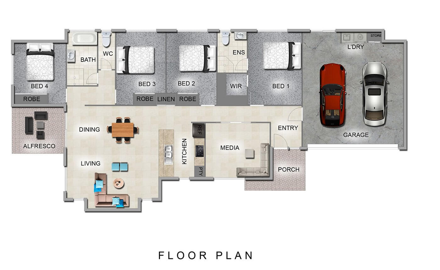 Jade 200 Floor Plan