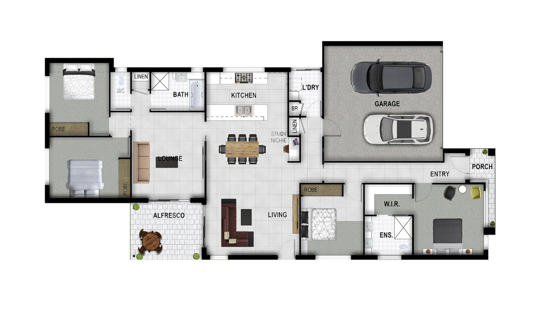 Luxor Floor Plan
