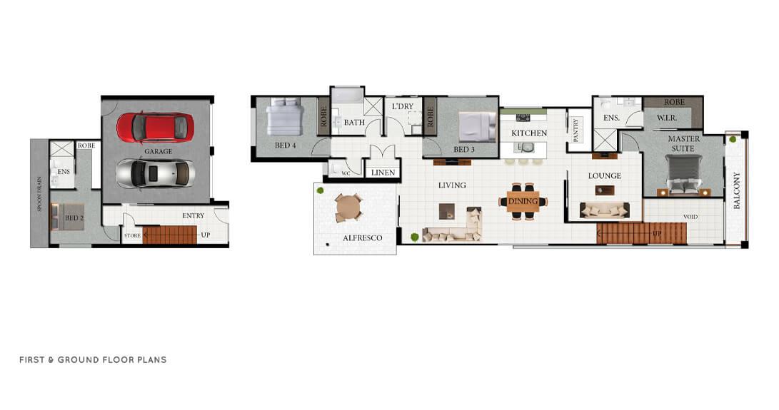Mirage Floor Plan