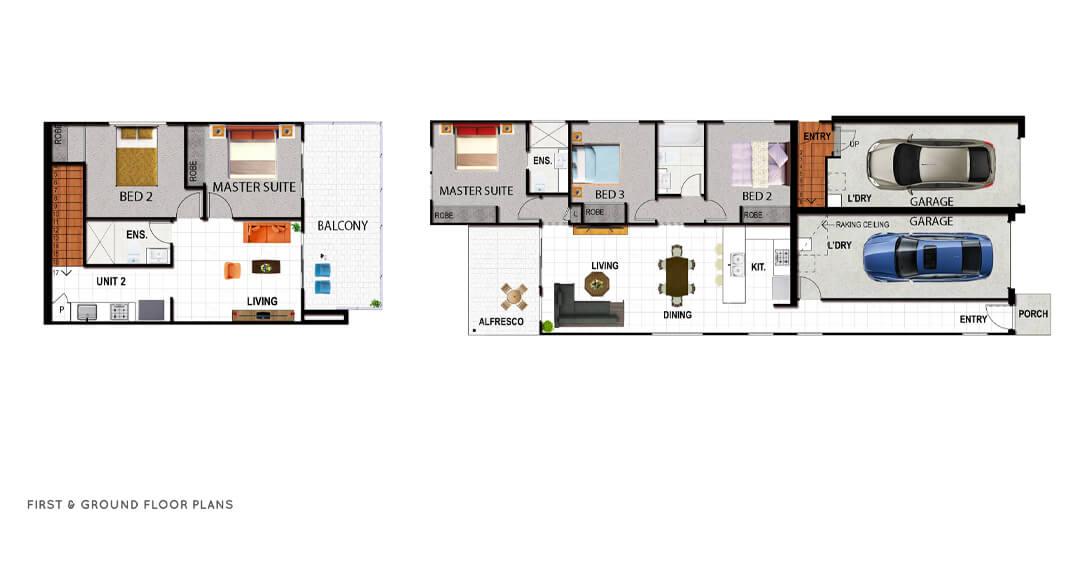 Venetian Floor Plan
